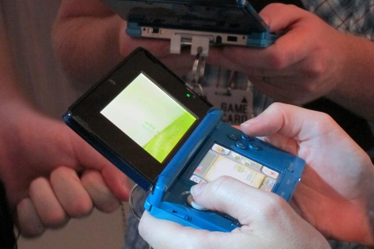 The Nintendo 3DS at its Australian launch party.