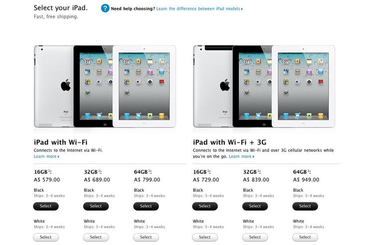 Apple's iPad 2 is predictably in high demand