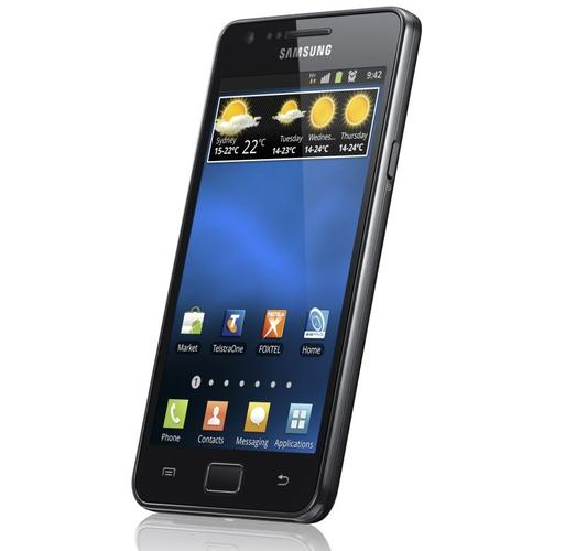 Telstra's Samsung Galaxy S II Android smartphone