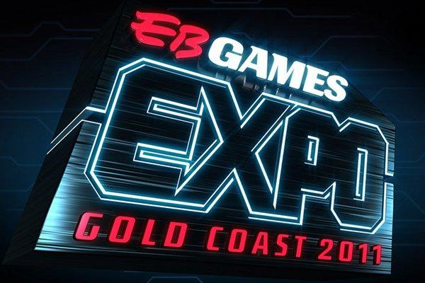 The EB Games Expo 2011 logo.