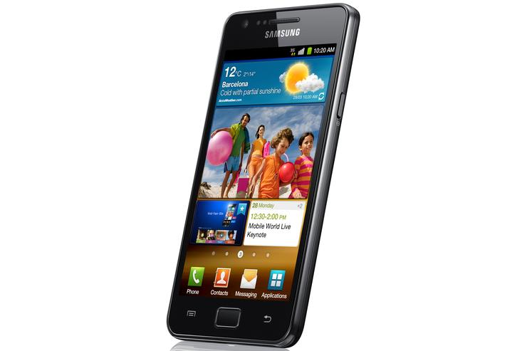 Samsung's Galaxy S II: now available for pre-order through Vodafone