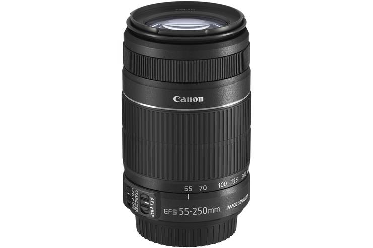 The new Canon EF-S 55-250mm IS II lens.