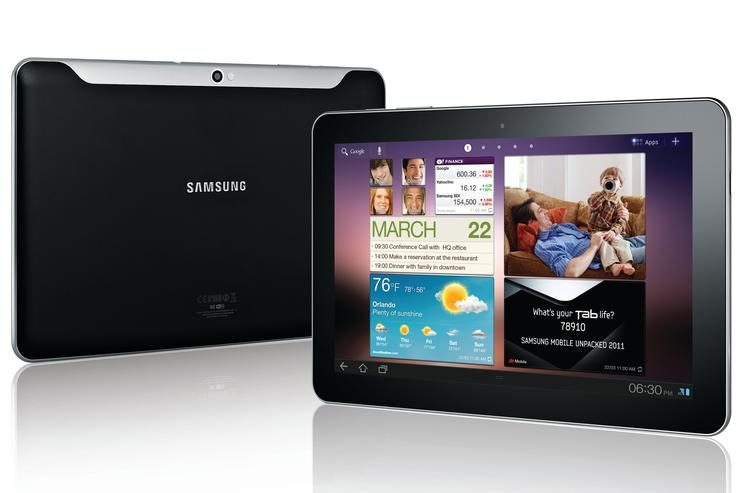 Samsung's Galaxy Tab 10.1 Android tablet will be on Australian shelves in time for Christmas