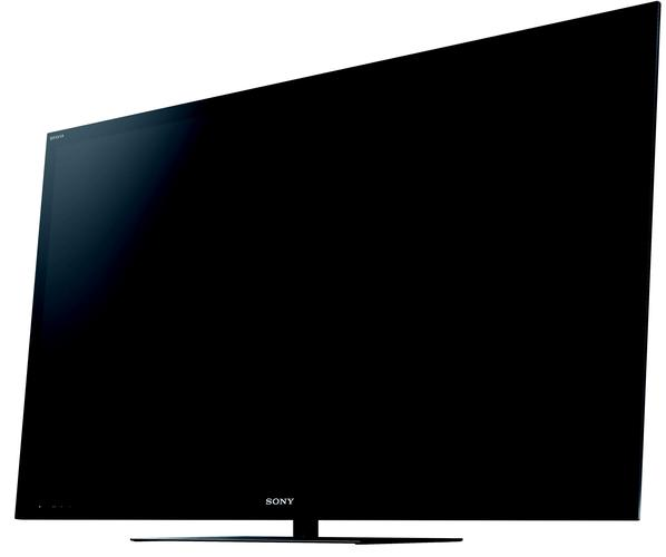 A glossy TV like the Sony BRAVIA HX925 will pick up fingerprints like nothing else... you'll need to clean it regularly.