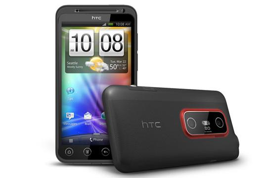 HTC's EVO 3D Android phone