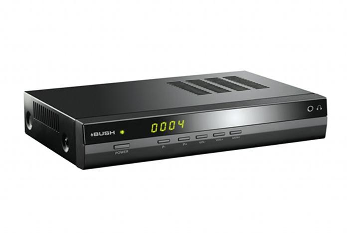 The Bush 'talking' set-top box, now commercially available for $199.