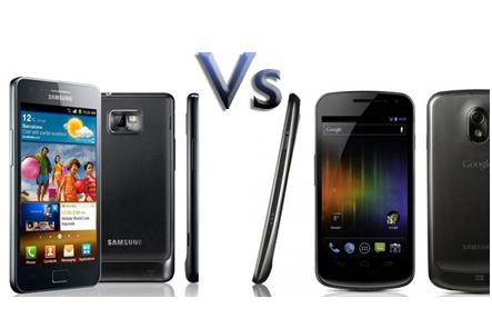 The Galaxy Nexus and the Galaxy S II: which smartphone is right for you?