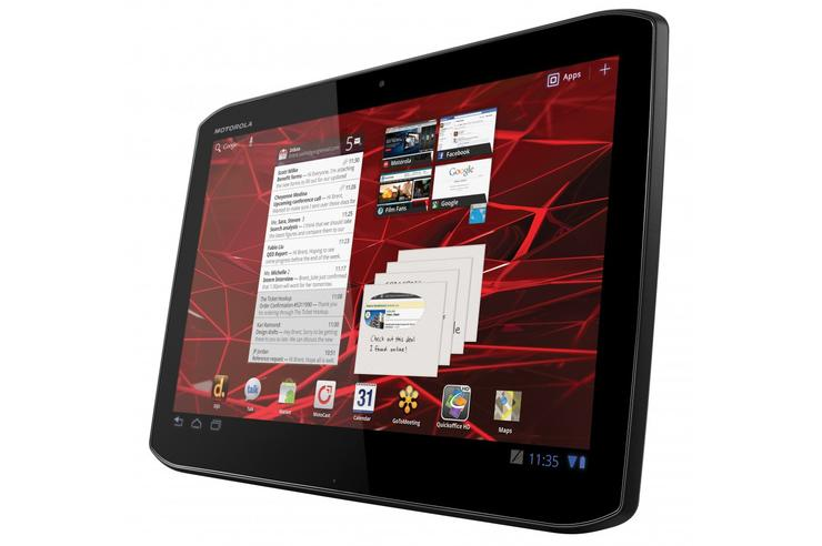 Motorola's Xoom 2 Android tablet: now available through Telstra
