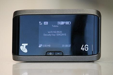 Telstra's 4G wireless hotspot