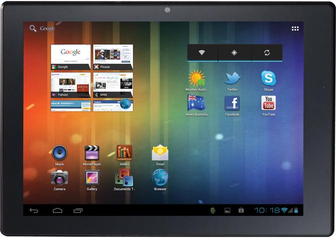 Aldi's $249 ICS Android tablet has a single-core processor, the company has admitted.