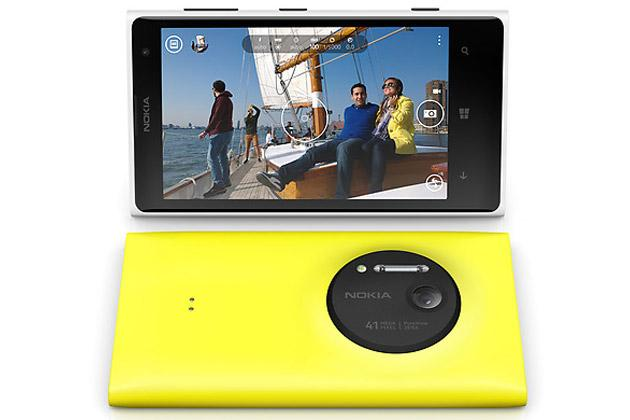 The Nokia Lumia 1020 has a 41-megapixel camera.