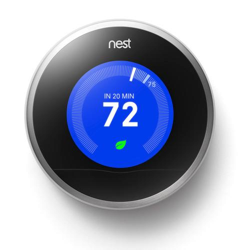 Google's never been the best at hardware, but the Nest is the best-designed thermostat hands-down.