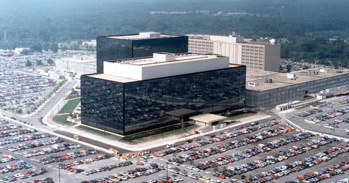 The U.S. National Security Agency's headquarters are at Fort Meade in Maryland.