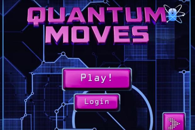 In Quantum Moves, gamers try to find clever ways to manipulate and move atoms. Credit: ScienceAtHome