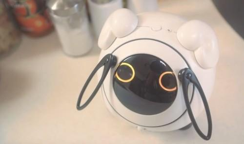From NTT DoCoMo and Tomy, OHaNAS is a smart toy that can speak in Japanese and retrieve useful online information.