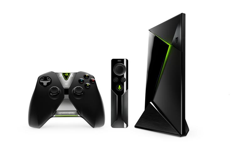 Nvidia  Shield with controller and optional remote control