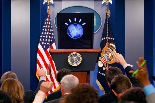Watson for president: Is it that big a stretch? Credit: The Watson 2016 Foundation