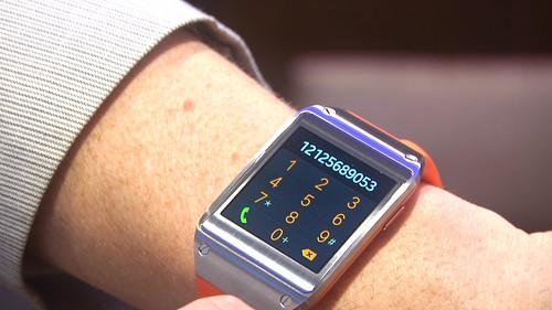 Hands on Samsung's Galaxy Gear smartwatch