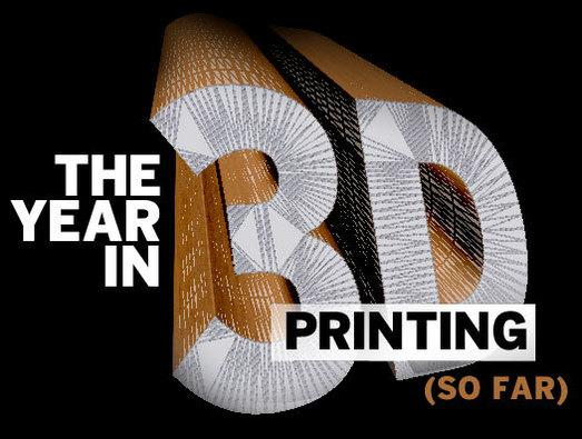 In Pictures: The year in 3D printing (so far)