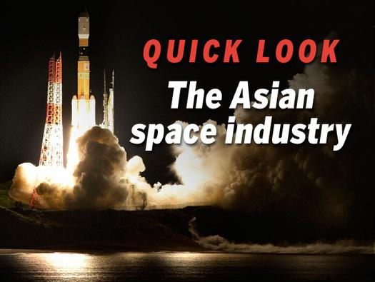 In Pictures: The Asian space industry lifts off