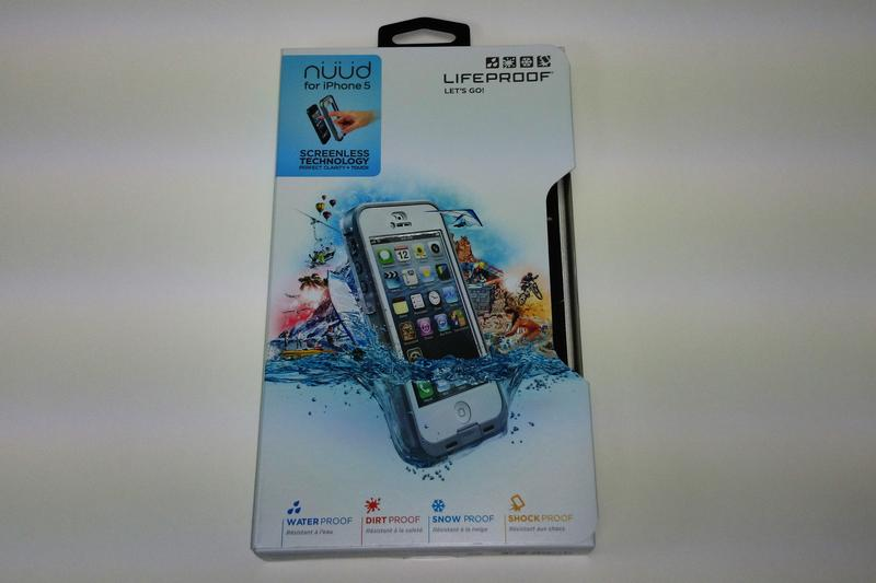 Unboxing: Lifeproof nüüd for iPhone 5