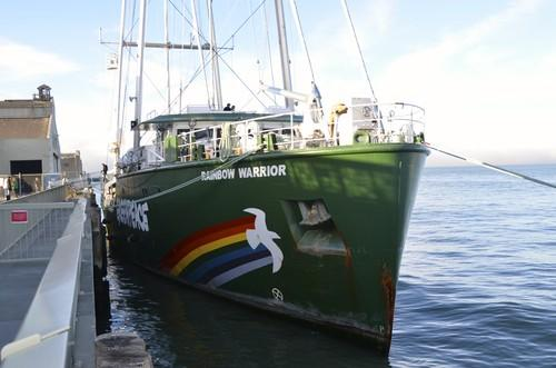A look around Greenpeace's unique Rainbow Warrior