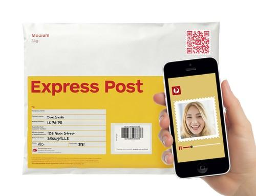 Australia Post introduces QR code 'video stamps'