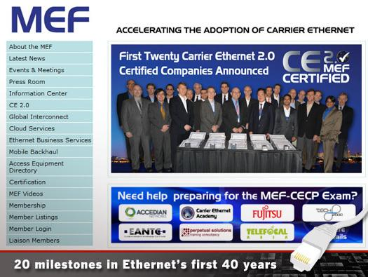 In Pictures: 20 milestones in Ethernet's first 40 years