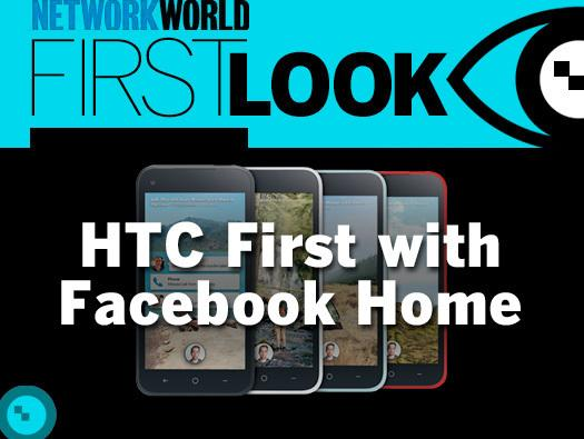In Pictures: HTC First with Facebook Home