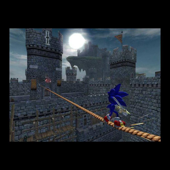 Sonic gets a taste for Arthurian legends