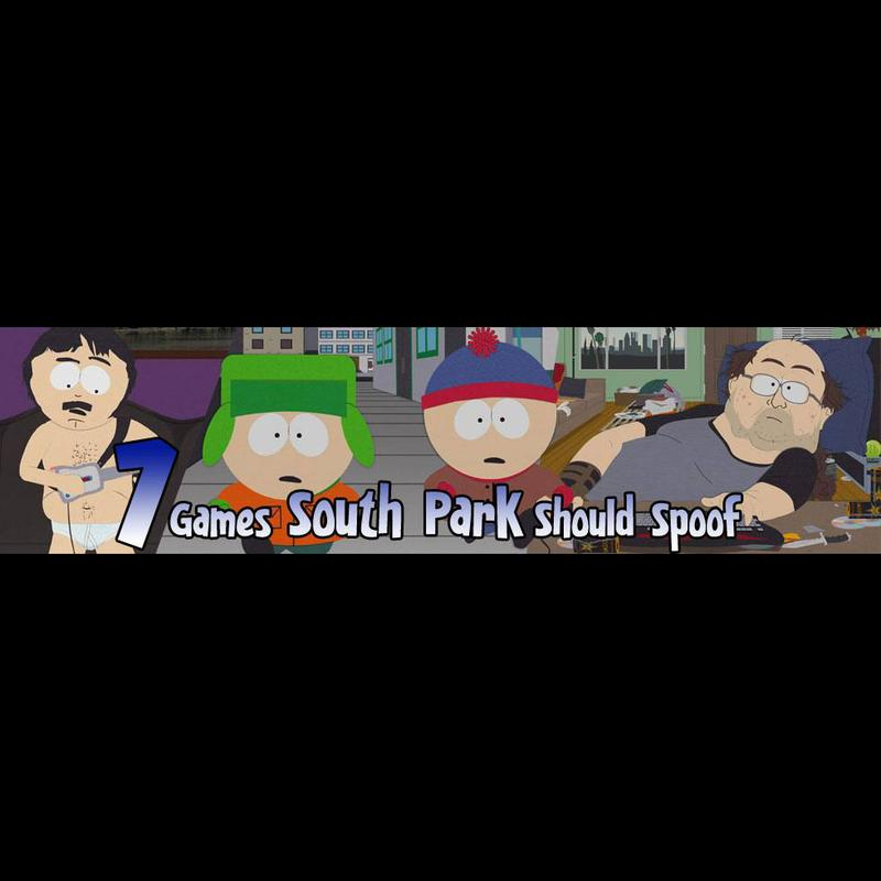 Seven games South Park should spoof