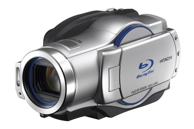 In Pictures: Hitachi to release new Blu-ray video cameras