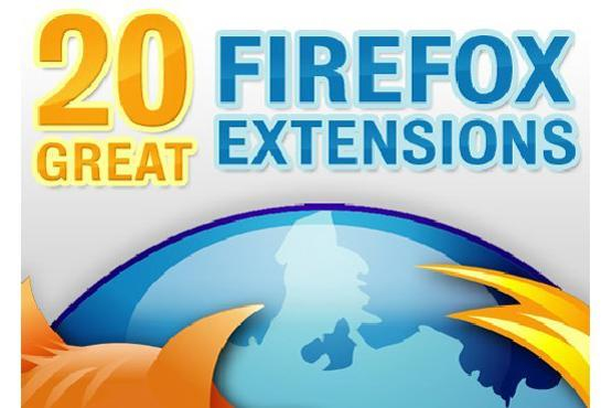 20 great Firefox extensions