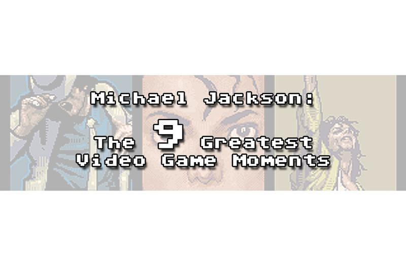 Michael Jackson's 9 greatest video game moments