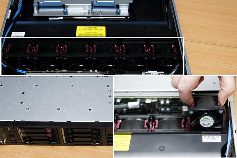 Server walkthrough: Taking apart the HP Proliant DL380 G6 server