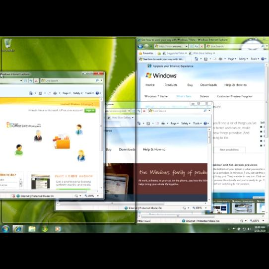 Windows 7 in Pictures: 10 Cool Desktop Features