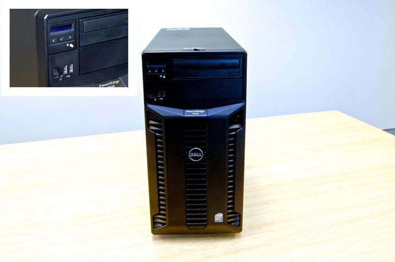 Server walkthrough: inside the Dell PowerEdge T410 tower server