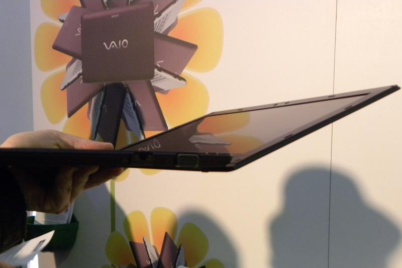 In pictures: Sony VAIO X series notebook