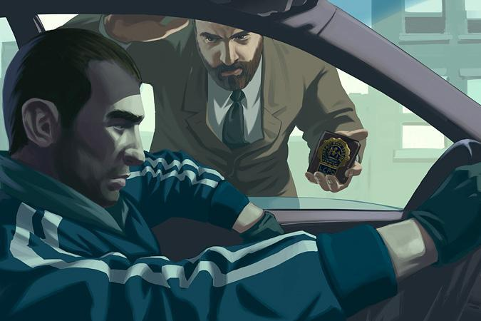 Grand Theft Auto 4 In Pictures