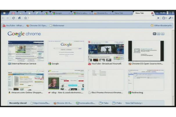 Google Chrome OS: A virtual tour