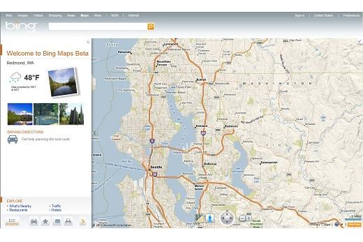 Microsoft's Bing tries to leapfrog Google Maps