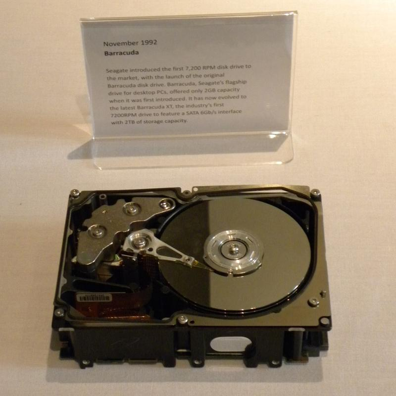 In pictures: 30 years of Seagate storage