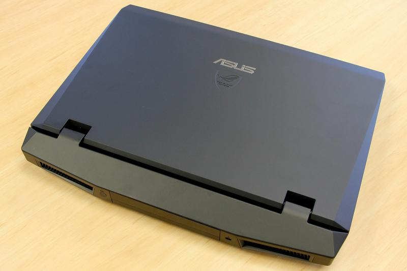Hands on: ASUS G73J Series Republic of Gamers notebook