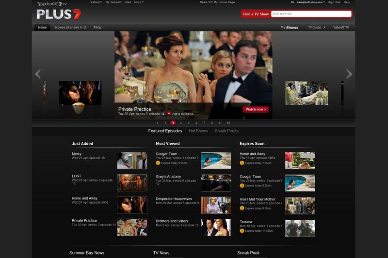 Video on demand: Australian catch-up TV services