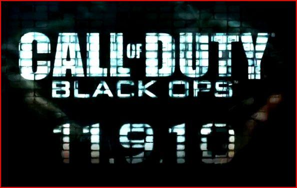 Call of Duty Black Ops Trailer Live