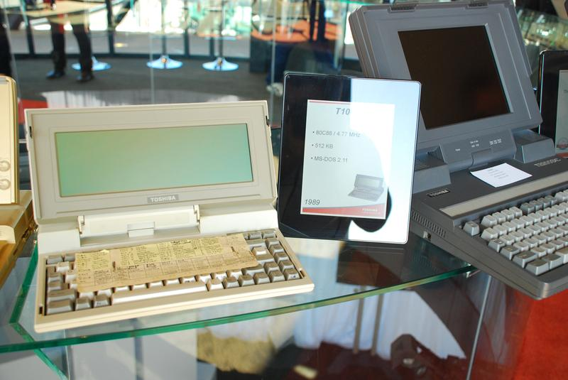 Gallery: 25 years of Toshiba laptops