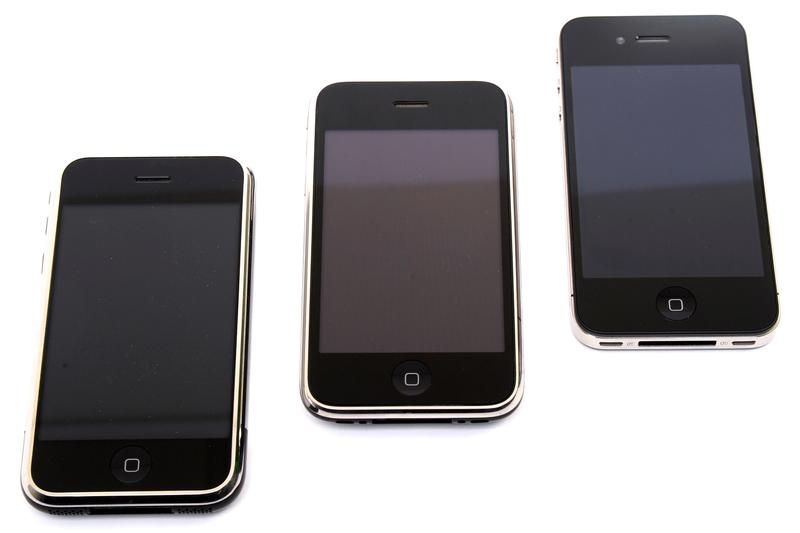 Apple's iPhone: Then and now