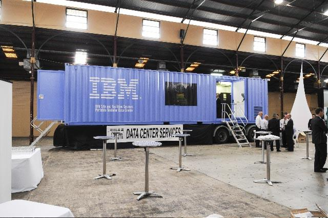 In Pictures: Inside IBM's mobile datacentre