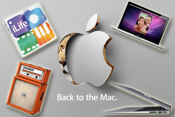IN PICTURES: Apple's Back to the Mac gear