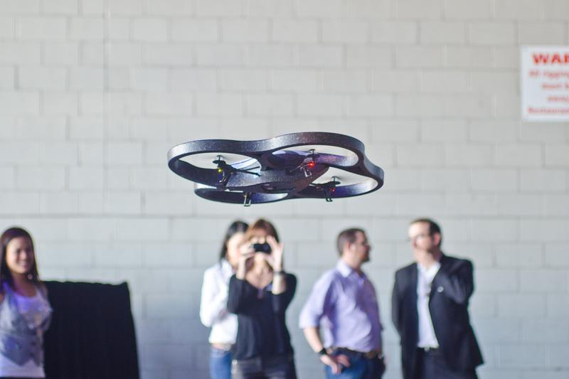 In pictures: Parrot AR.Drone launch